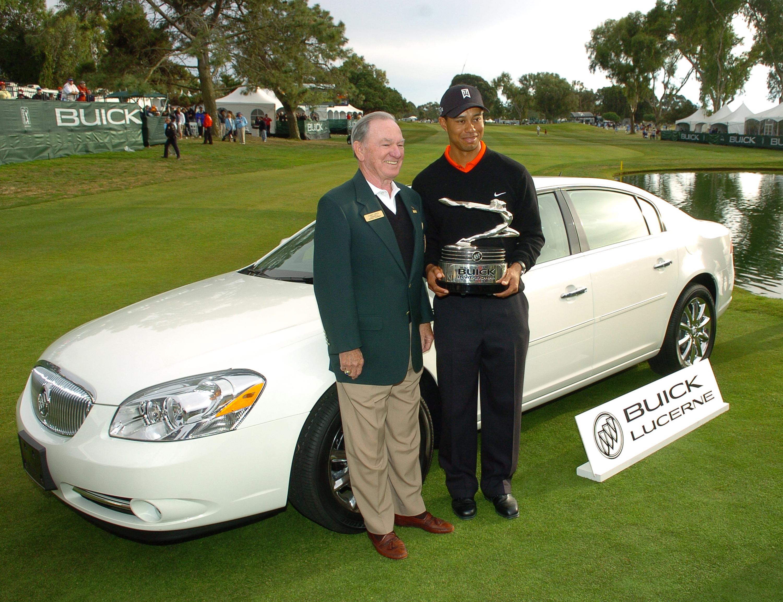 Tiger Woods Buick Lucerne