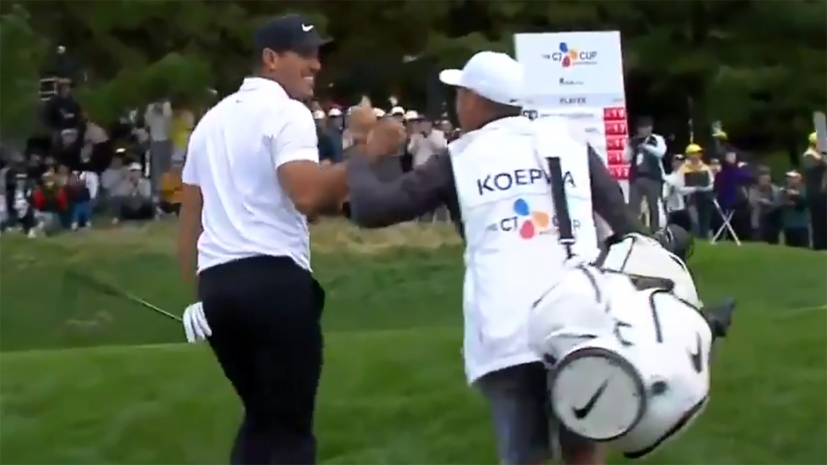 Koepka new world number one after Korea win